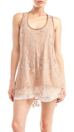 Beautiful top! I love lace so much!