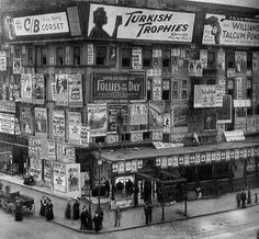 Times Square, 1909. With thanks to http://pinterest.com/mezaial/