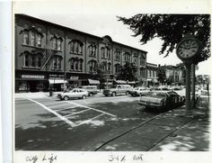 This is Broadway in July of 1986 from outside the Adirondack Trust Bank. Across the street is Raymond's Boutique, which was owned by former Saratoga Springs mayor Raymond Watkin. (Times Union Archives)