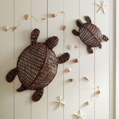 Wicker Turtles