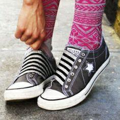 4 DIY - Elastic Shoes