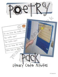 Poetry Pack (Literacy Center Activities)