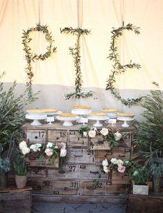 Wedding Pie Bar! Won