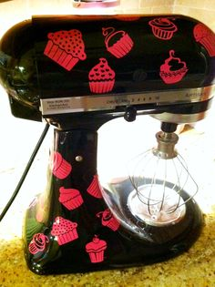 Decked out Kitchen Aid mixer!!