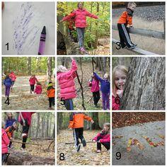 Nature Walk Ideas