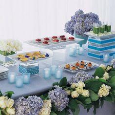 buffet table presentation ideas