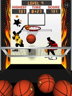 Basketball Arcade Machine App by MUGOCO Inc