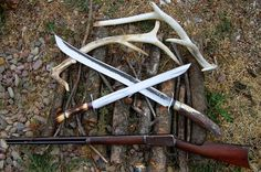 Behring Made Knives: Behring Made Knives makes beautiful custom (completely handmade) hand forged scagel style knives, swords and axes using only the best grade steel and materials available. Made in the USA.