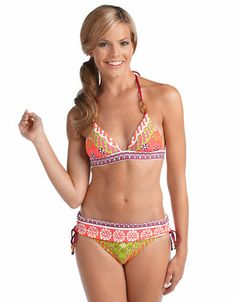 This Seychelles bikini is too cute for a coverup.