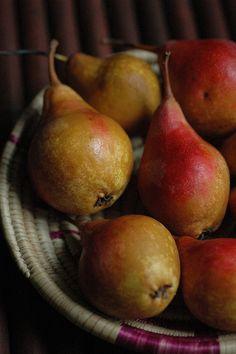 pears...