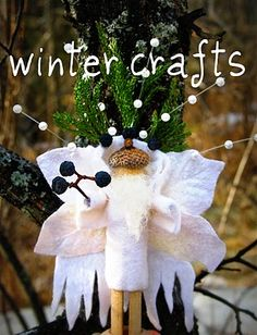 Twig and Toadstool: Winter crafts