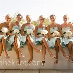 Light Blue Bridesmaids