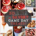 30 Sweet & Savory Game Day Treats