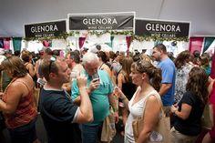 Glenora Wine Cellars Tasting