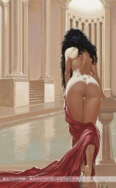 Bathing Beauty by FransMensinkArtist.deviantart.com