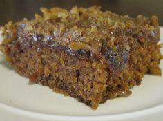 Oatmeal Cake-like German Chocolate