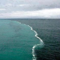 Where 2 oceans meet