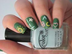 Nail Inspiration:  Chalkboard Matte Nails