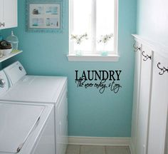 For the laundry room. :)
