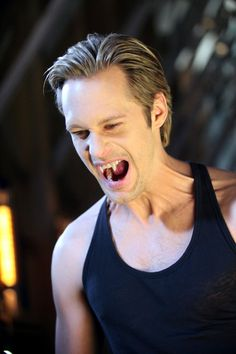 Eric Northman can bite me ANY time he wants. and no, am not a fangbanger..just love me some Eric
