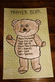 Prayer Charts for Kids