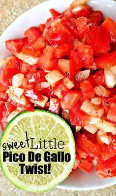 Sweet Little Pico De Gallo Twist! – Simply Taralynn