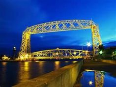 Aerial Lift Bridge in Duluth Minnesota