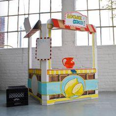 cardboard snack shack