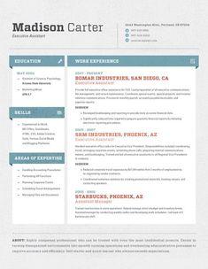 Amazing Resume Template 1