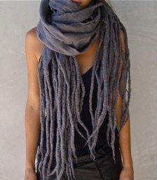 look like silver dreads <3