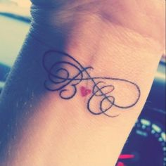 initial tattoo on wrist. Do I want their whole name or initials??