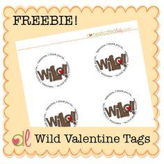 Wild Valentine Tags
