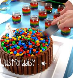 Love the baby food jar rainbow jello... Hmmm... I had not thought of using the jars for individual jars of jello for the kids.. not necessarily rainbow
