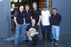 Ram's Gate Winery 2012 Harvest Crew! Working so hard and smiling the whole time. Hats off and cheers to each of you!