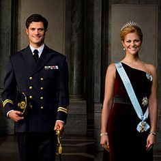 Sweden's Prince Carl Philip and Princess Madeline