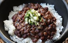 Spicy Black-Beans