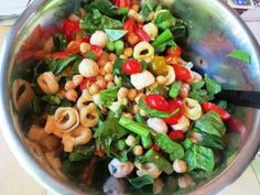 Sweet Pepper Tortellini Salad by danicasdaily.com