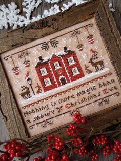 Magic Christmas Eve - THE LITTLE STITCHER Cross Stitch Pattern