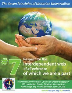 Seventh principle of Unitarian Universalism