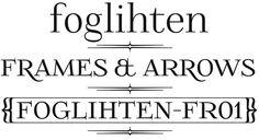Font FoglihtenFr01 made by gluk