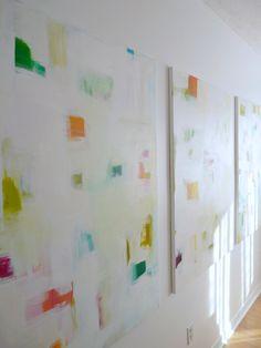 DIY wall art, beautiful!