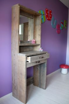 Stoere kinderkamers on pinterest beds old wood and vans - Deco volwassen bed ...
