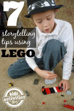 Storytelling for Kids: Use LEGO to Create a Story