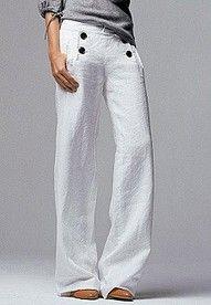 slouchy sailor pants