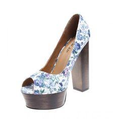 Pantofi de dama white Welcome Spring