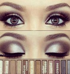 Naked makeup love it!