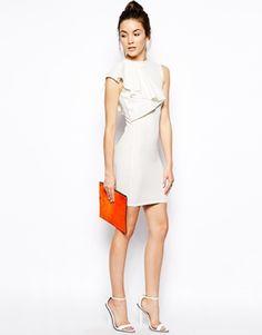 Enlarge Lasula Flair Me Up Dress Cream