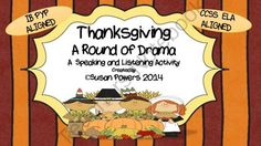 Thanksgiving Drama Circle IB PYP Literacy Activity from Cool Teaching Tools on TeachersNotebook.com -  (15 pages)  - Drama and Thanksgiving! It brings out the risk-taking, creativity in all kids and everyone has so much fun! These printable cards are just  one of my drama circle activities that I use to practice the trans-disciplinary skills of cooperation, social, comm