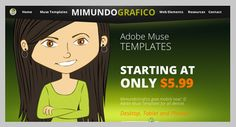 In MIMUNDOGRAFICO you can find Web Templates for Adobe Muse. In this market place you will find a variety of templates for different needs and sizes at a great price  http://mimundografico.com/