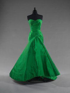 Dress (Ball Gown)  Charles James  (American, born Great Britain, 1906–1978)  Date: 1954 Culture: American Medium: silk